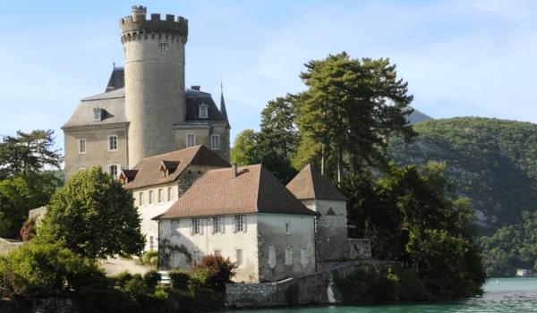 Annecy lake – Duingt castle