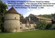 Fontenay Abbey – Introduction