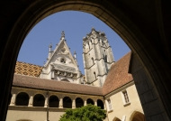 The church & the first cloister