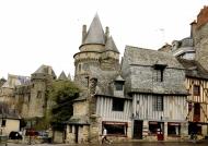 Medieval wonders of Vitré