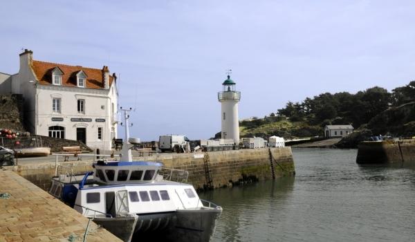 Sauzon harbour
