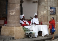 Fortune Teller in Old Havana