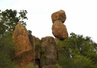 Spectacular rocky columns
