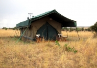 Our tented camp