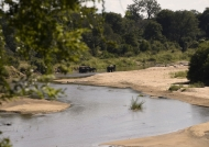 Sand River near the lodge