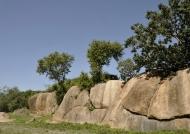 around granit formations….