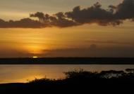 Lake Ndutu on fire…