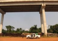Impressive bridge of 4,7km